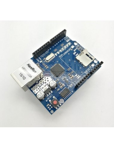 Ethernet Shield Module W5100 Micro SD Card Slot | Comunicação Arduino |