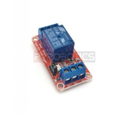 Relay module high and low level trigger Funduino