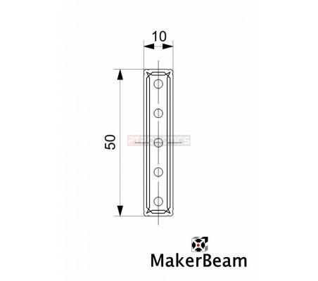 MakerBeam Straight Bracket Makerbeam
