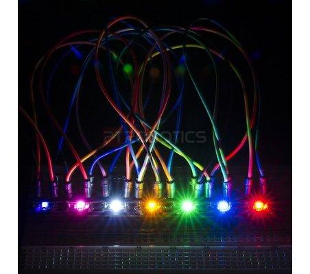 LilyPad Rainbow LED (6 Colors)   Lilypad Flora Gemma   Sparkfun