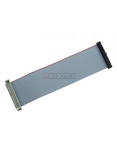 40 Pin GPIO Male to Female Ribbon Cable - 150mm ModmyPi