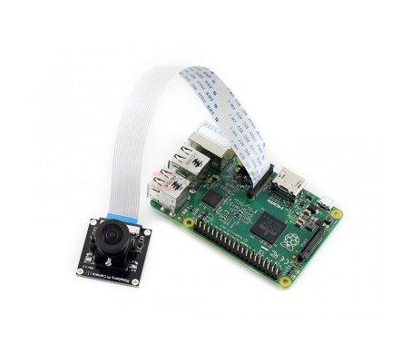 Raspberry Pi Camera Module w/ Fisheye Lens | Cameras Raspberry Pi | Waveshare