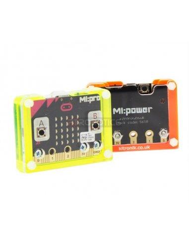 MI:pro Protective Case for the MI:power board - Verde | Micro:Bit | Kitronik