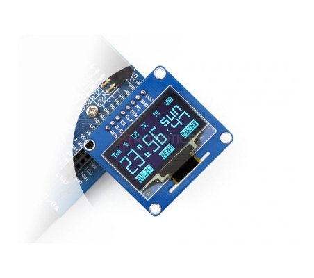 1.3inch OLED w/ SPI/I2C interfaces and vertical pinheader Waveshare