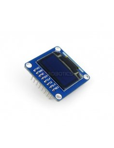 0.96inch OLED w/ SPI/I2C interfaces and vertical pinheader
