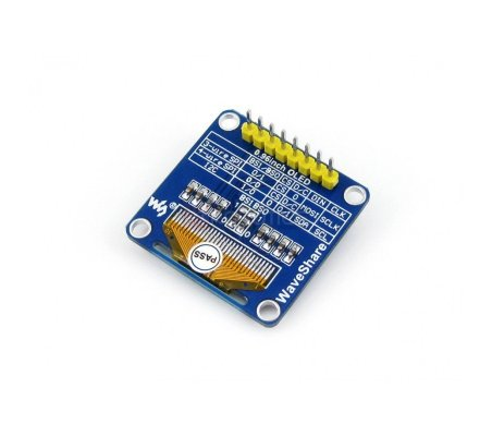 0.96inch OLED w/ SPI/I2C interfaces and vertical pinheader Waveshare