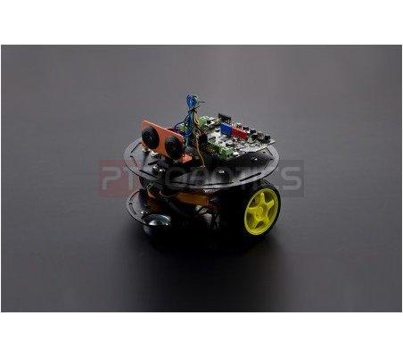 Kit 2WD Turtle: Kit de Robótica Arduino para Principiantes | Chassi de Robo | DFRobot