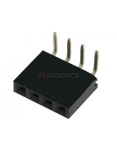 PCB Socket 4Pin 90º Single Row | Headers e Sockets |
