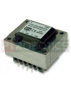Vigortronix VTX-120-006-512 PCB Transformer 6VA 110/220/240V 2x12V 250mA