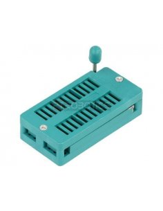 "ZIF Socket 28-Pin 0.6"""