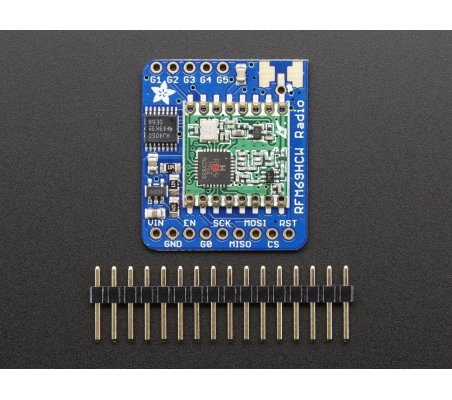 Adafruit RFM69HCW Transceiver Radio Breakout -  433 MHz