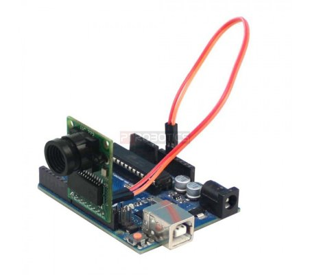 ArduCAM Mini Camera Module Shield w/ 2 MP OV2640 for Arduino | Câmeras |