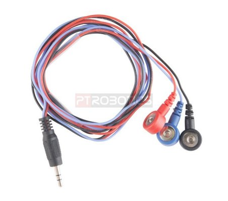 Sensor Cable - Electrode Pads (3 connector)