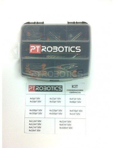 Kit Condensadores Cerâmicos PTRobotics | Condensador Cerâmicos |