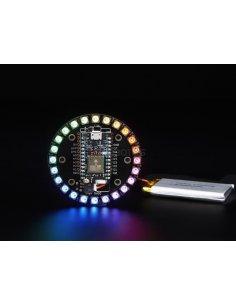 Adafruit Particle/Spark NeoPixel Ring Kit - 24 NeoPixels