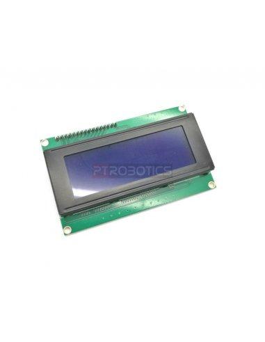 20x4 I2C LCD module | LCD Alfanumerico | Funduino
