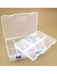 Plastic Box for Microcontroller Kit with two decks