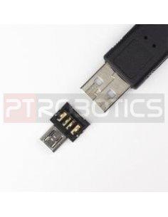USB to microUSB OTG Converter Shim