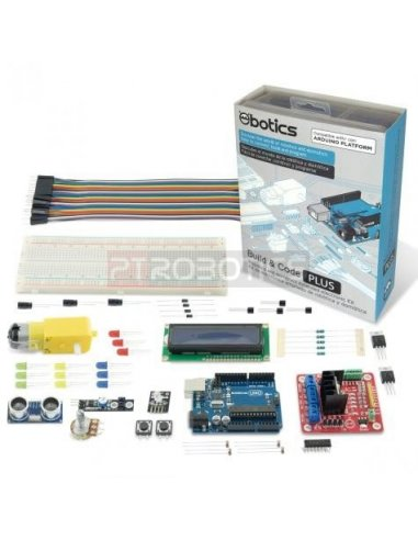 Ebotics Build & Code Plus - Electronic Kit | Ebotics |