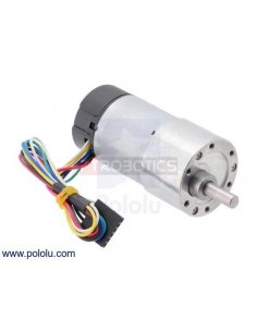 30:1 Metal Gearmotor 37Dx68L mm with 64 CPR  Encoder