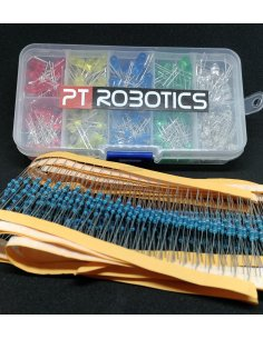 PTRobotics Led and Resistor Kit - 600pcs