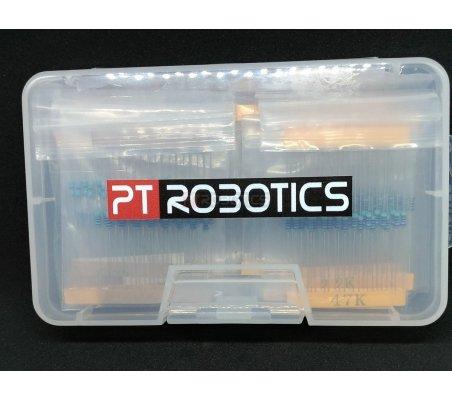 PTRobotics 250mW 1% Resistor Kit - 525pcs