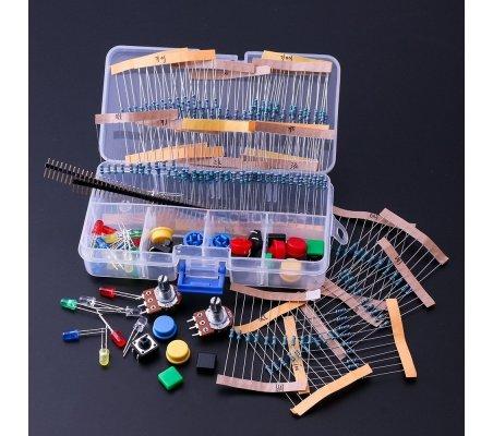 PTRobotics Component Kit for Arduino and Raspberry Pi - Basic