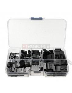 2.54mm Plastic Dupont Jumper Wire Kit w/ Box - 150pcs