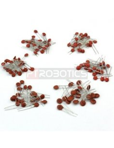 PTRobotics Ceramic Capacitor Kit - 250pcs
