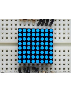 Miniature 8x8 Blue LED Matrix