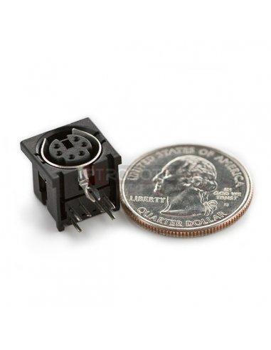 MiniDIN 6-Pin Connector