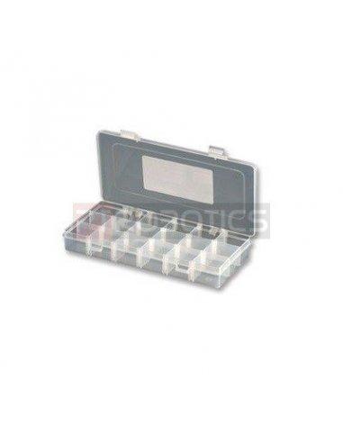 Compartment Box 35x125x230mm Clear | Caixas de Aparelhagem |