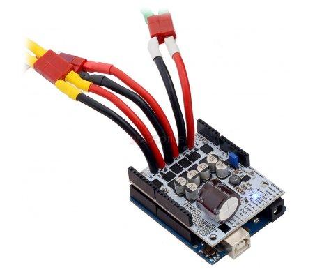 Pololu Dual G2 High-Power Motor Driver 18v18 Shield for Arduino | Motores Arduino | Pololu
