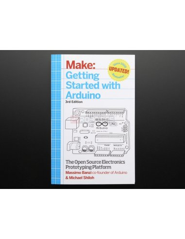Getting Started with Arduino By Massimo Banzi - 3rd Edition Adafruit