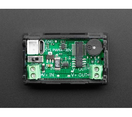 Mini Power Meter with Voltage, Current, Watts, mAh & mWh Display | Medidores de Painel | Adafruit