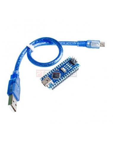 65cd1ad4fd2 Arduino Nano V3.0 compatible w/ USB Cable