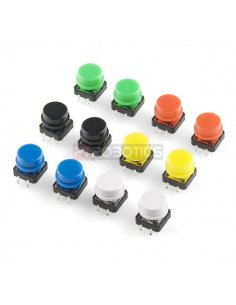 Tactile Button 12mm Assortment