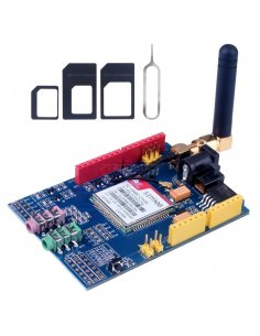 SIM900 Quad-band GSM-GPRS Shield Development Board