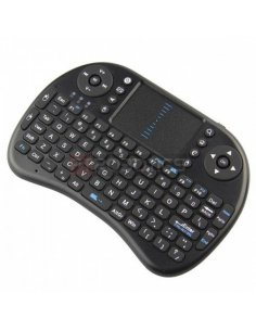 Mini 2.4G Multi-functional Wireless Keyboard For Raspberry Pi - Black