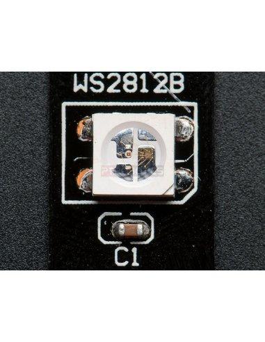 NeoPixel Digital RGB LED Strip - White 60 LED - 1m - Black