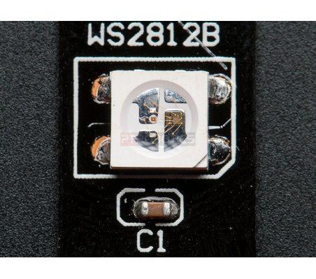NeoPixel Digital RGB LED Strip - Black 60 LED - 1m - Black | Neopixel | Adafruit