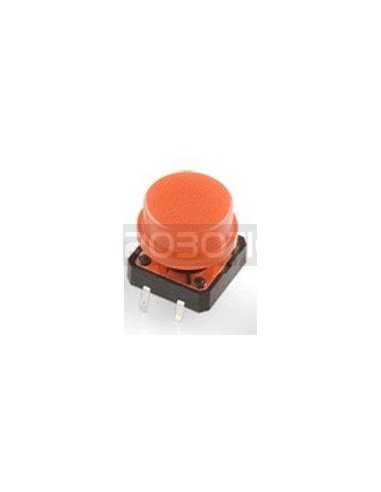 Tactile Button 12mm Red