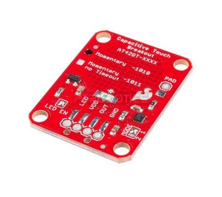 SparkFun Capacitive Touch Breakout - AT42QT1010   Botões e Teclados   Sparkfun