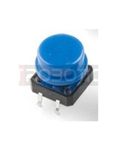 Tactile Button 12mm Blue