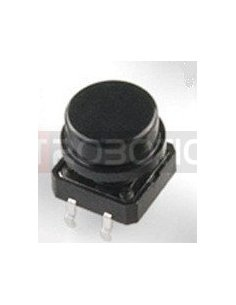 Tactile Button 12mm Black
