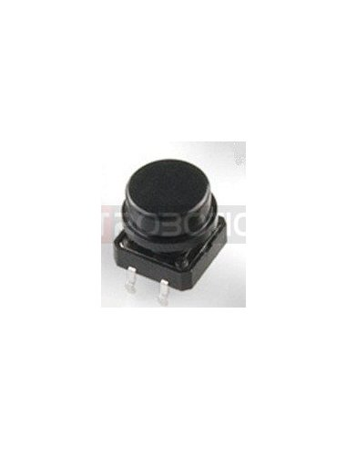 Tactile Button 12mm Black | Tactile Switch |