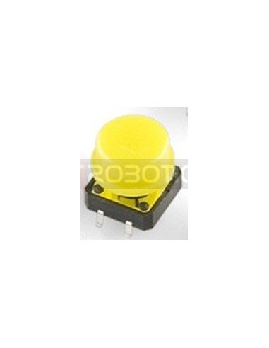 Tactile Button 12mm Yellow | Tactile Switch |