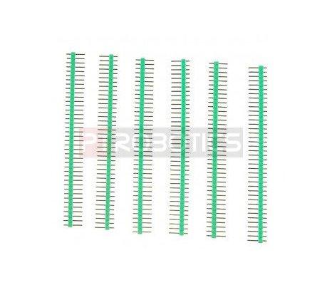 PCB Header 40Pin Single Row - Verde DFRobot