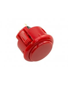 Official Sanwa Arcade Button - Red
