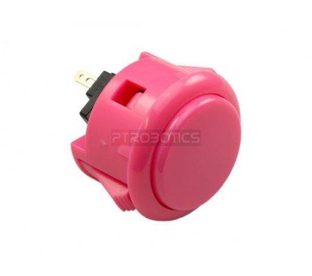 Official Sanwa Arcade Button - Pink ModmyPi